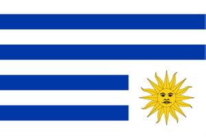 Flag of Uruguay-sad by cmenghi