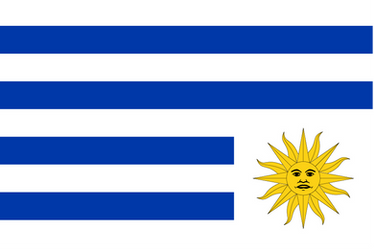 Flag of Uruguay-sad