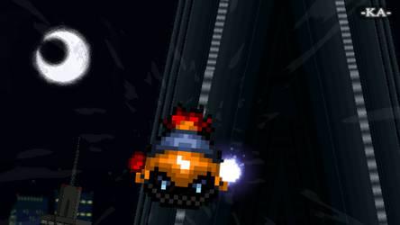 Kirby - Drifter's Descent - Initiation part 2 by xKAreloadedx