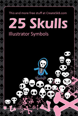 Skatebard Skull Symbols by namespace