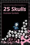 Skatebard Skull Symbols