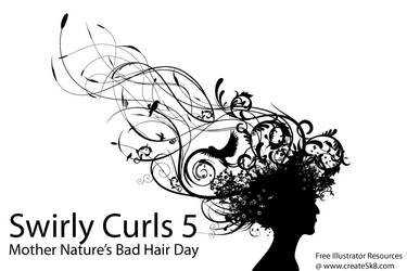 Swirly Curls 5 - Bad Hair Day