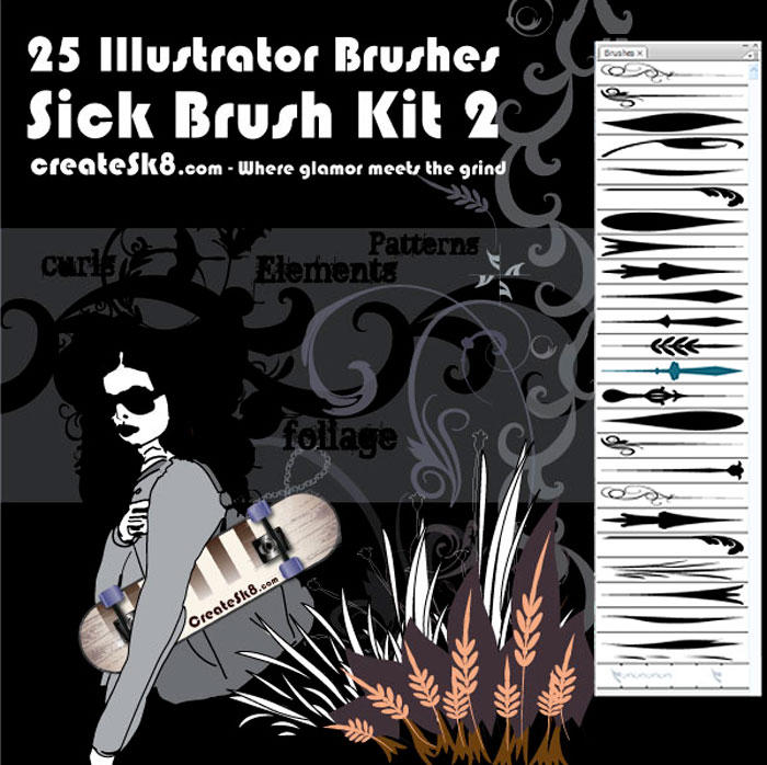 Sick Brush Kit 2 by namespace