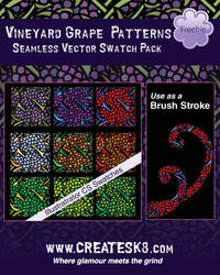 Grape Patterns and Brushes
