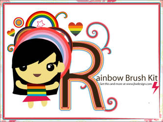 The Rainbow Brush Kit