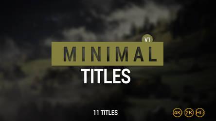 11 Minimal titles