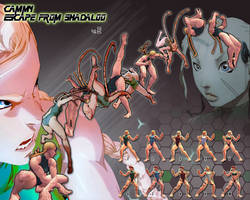 SSF4AE Cammy - Escape from Shadaloo v.2 costume by sloth85