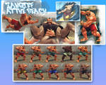 SSF4AE Zangief: At the Beach costume