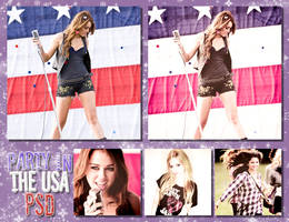 +party in the usa.psd by seleworld