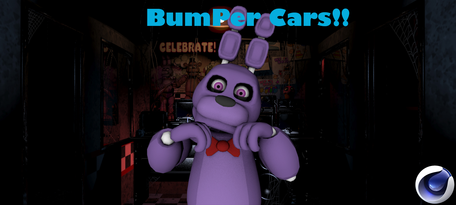 Bonnie bumper cars rig download cinema 4d by lukethecursedguy on