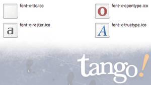 Tango Font Icons