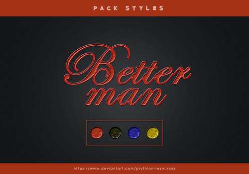 BETTER MAN Styles