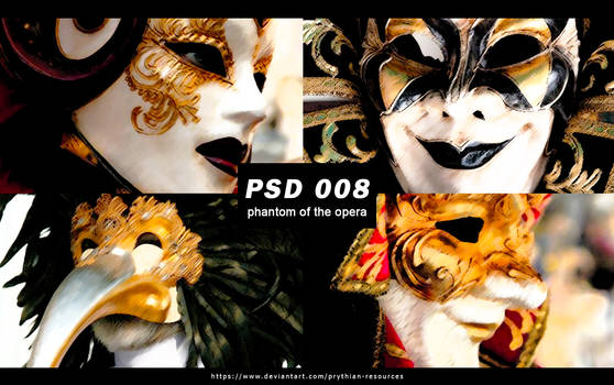 PHANTOM OF THE OPERA ||PSD 008