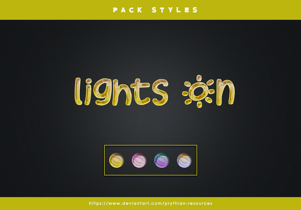 LIGHTS ON Styles