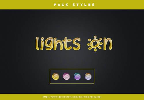 LIGHTS ON Styles