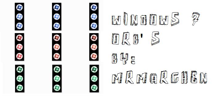 WIN7 ORBS SHINE STYLE by MrMarchenprinz