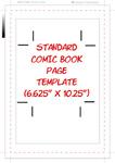 Standard Comic Book Template by bozoartist