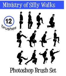 Ministry of Silly Walks brushs