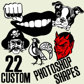 Spot Custom Shapes by bozoartist