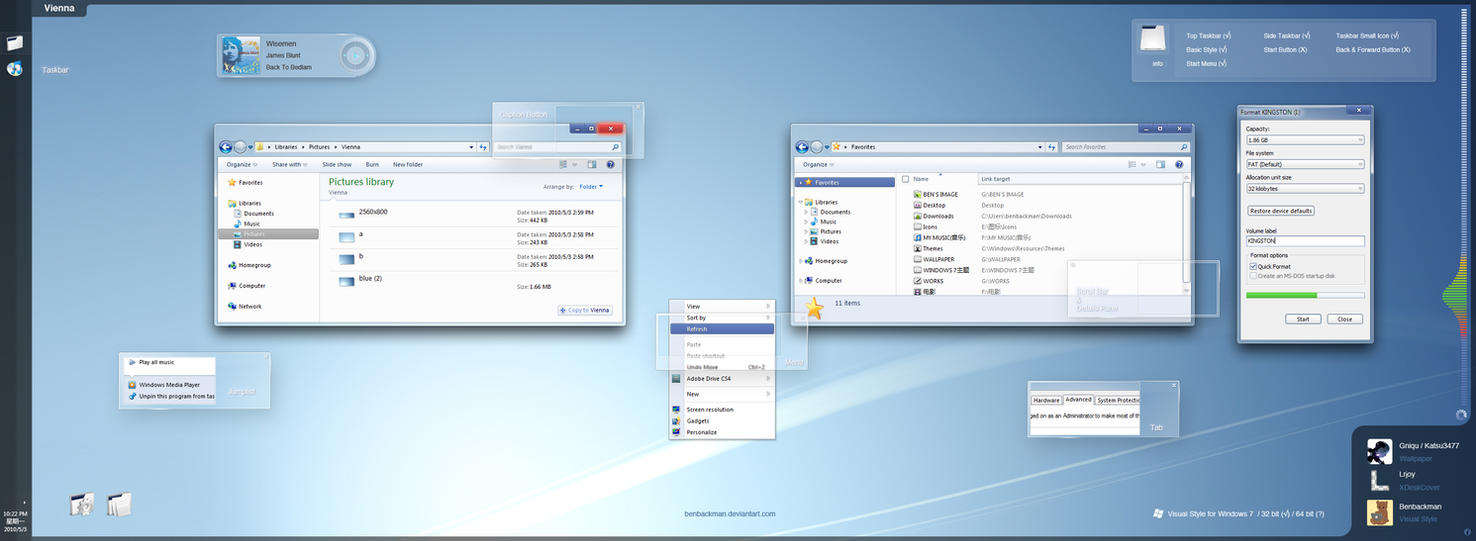 personaliza tu windows 7