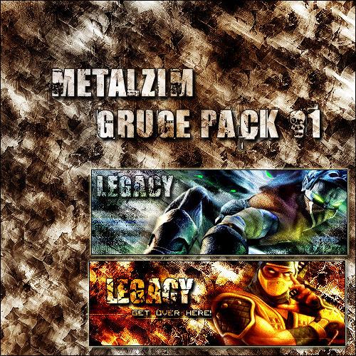 GRUGE PACK 1 by METALZIM