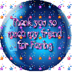 Thanks For Faving Blue