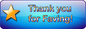 ANOTHER THANKS FOR FAVING by Sugaree-33