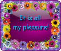 It's all my pleasure...