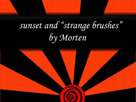 photoshop brushes 'sunset'