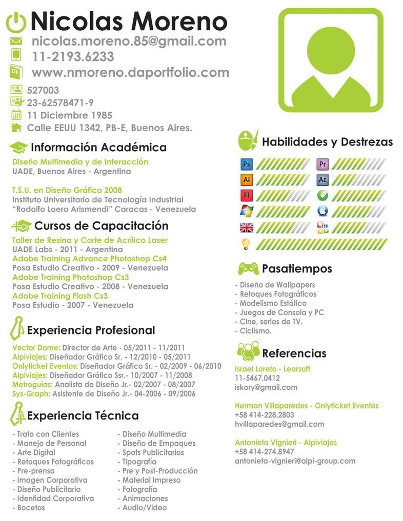 Web Designer Resume Pdf