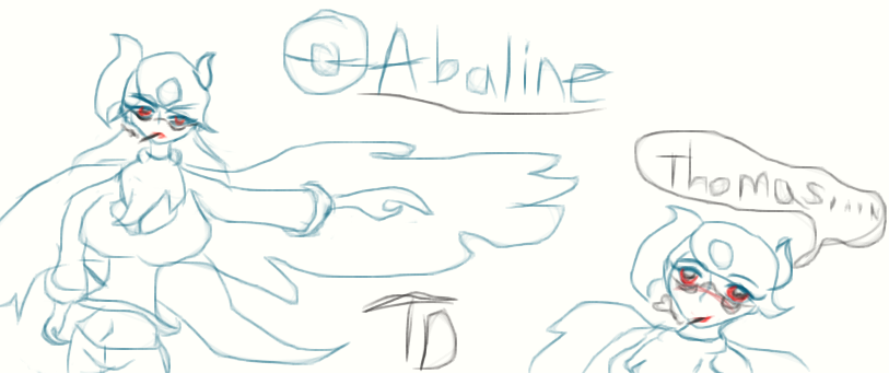 Pokerus: Abaline the Mega Absol by Twilightdrifter