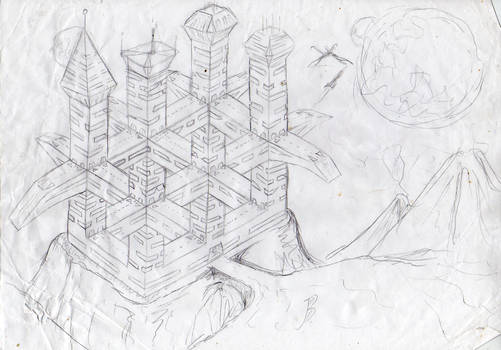 X'amegogg Castle (drawing)