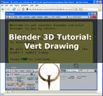 Blender 3D vector art tutorial