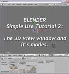 Blender Simple Use Tut2