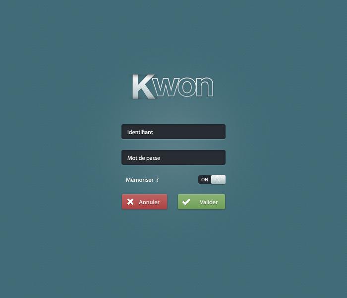 free : Clean admin  login form