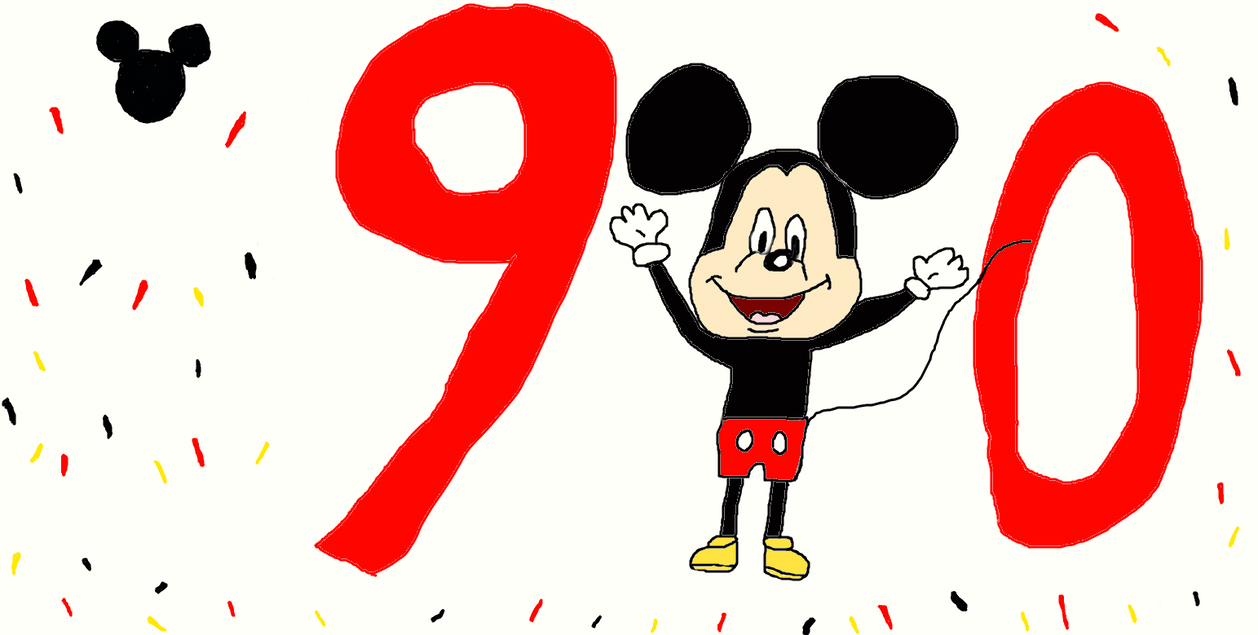 Happy 90th Birthday, Mickey Mouse!!!!!!!!!!! by puppyluv1993