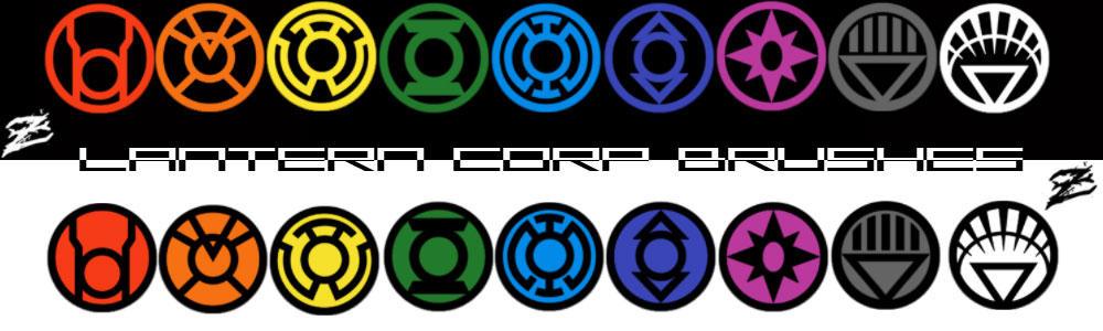 Lantern Corp brush set by ZanderYurami