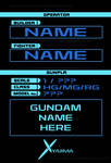 GP BASE TEMPLATE GUNDAM BUILD FIGHTERS TRY