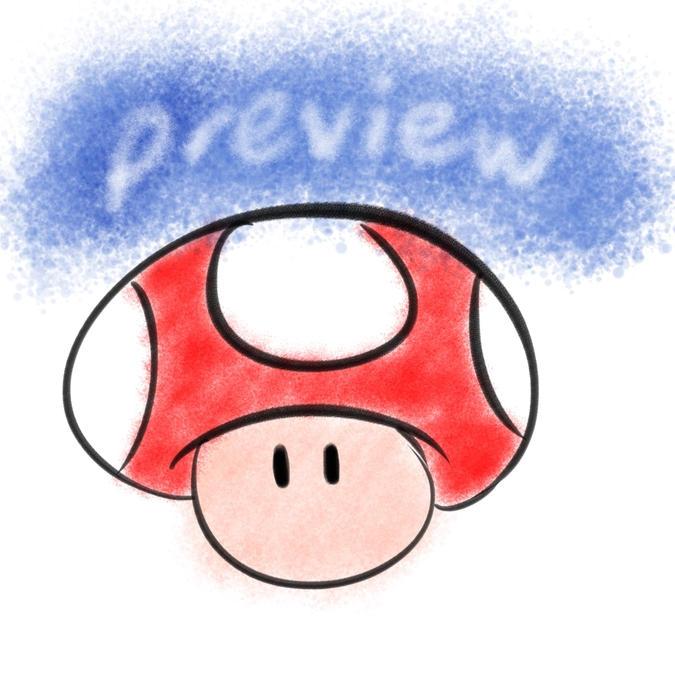 Mushroom Animation Practice (WIP)