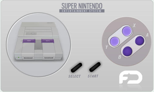 SNES Icon by FusionIce on DeviantArt