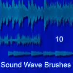 Sound Wave Brushes