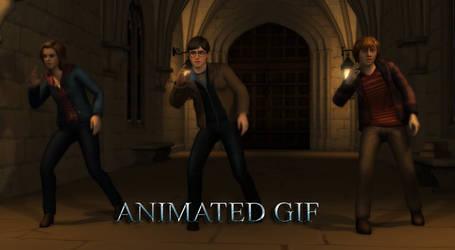 The Hogwart Crew (Animated Gif - Warning: 20MB)