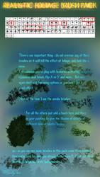Realistic Foliage brush pack by Winterkeep