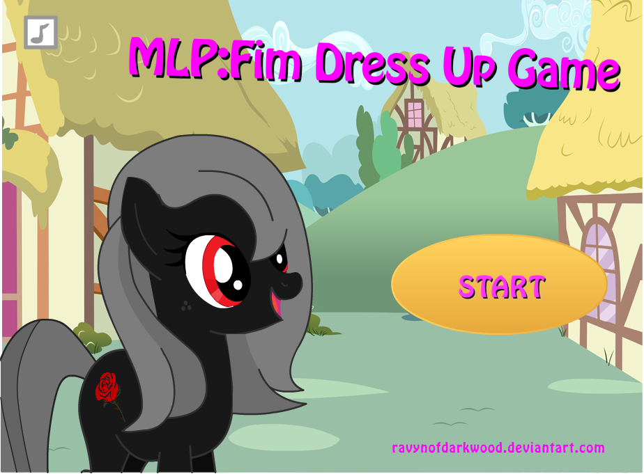 Mlpfim Dress Up Game Rosemary By Ravynofdarkwood On Deviantart