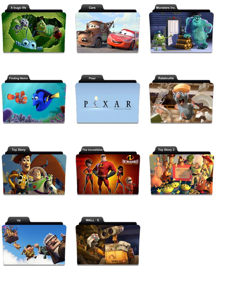 pixar icons for vista by codylcran on deviantart