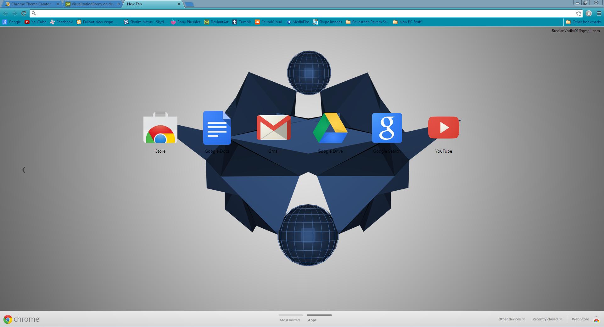 Gmail theme creator - Fractal Google Chrome Theme By Visualizationbrony Fractal Google Chrome Theme By Visualizationbrony