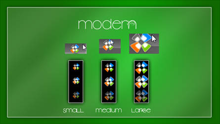 'Modern' for Windows 7 by LordReserei