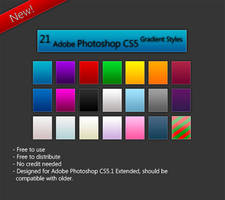 Adobe Photoshop Gradient Styles by LordReserei