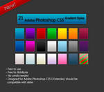 Adobe Photoshop Gradient Styles