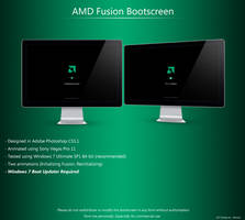 AMD Fusion Bootscreen by LordReserei